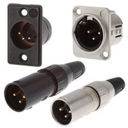 XLR Connector - 3 Pin Plug